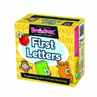 GREEN BOARD GAME CO Brainbox First Letters