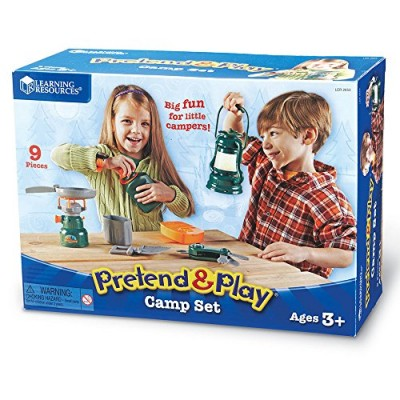 LEARNING RESOURCES Pretend & Play Camp Set