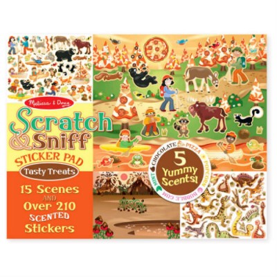 MELISSA & DOUG Scratch & Sniff Tempting Treats