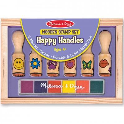 MELISSA & DOUG Happy Handles Stamp Set