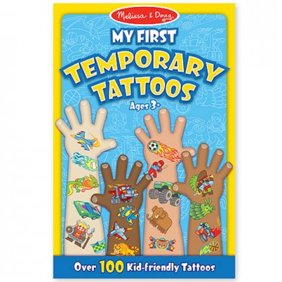 MELISSA & DOUG Temporary Tattoos Boys