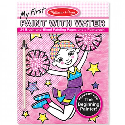 MELISSA & DOUG My First Paint With Water Girl