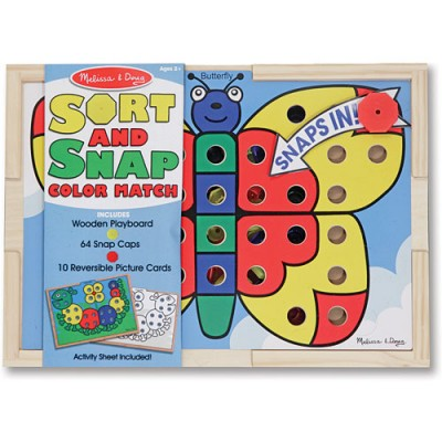 MELISSA & DOUG Sort & Snap Colour Match