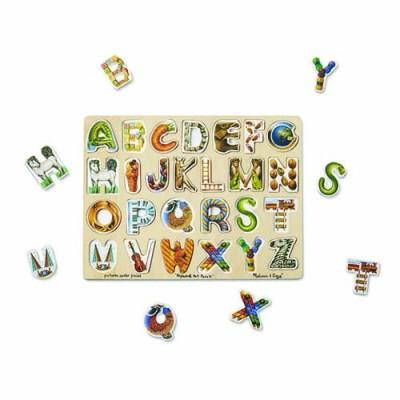 MELISSA & DOUG Alphabet Art