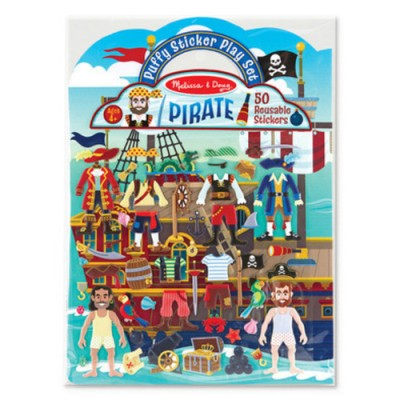MELISSA & DOUG Puffy Stickers - Pirate
