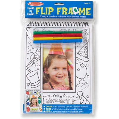 MELISSA & DOUG Month by Month Flip Frame