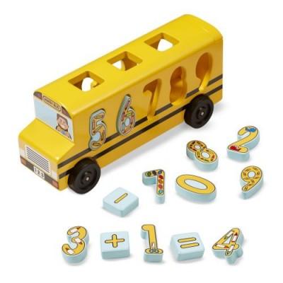MELISSA & DOUG Number Matching Maths Bus