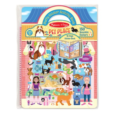 MELISSA & DOUG Puffy Stickers - Pet Place