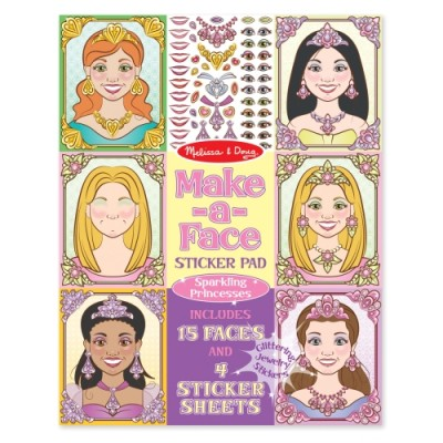 MELISSA & DOUG Make-A-Face Princesses