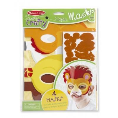 MELISSA & DOUG Simply Crafty - Safari Masks