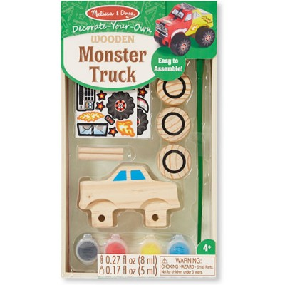 MELISSA & DOUG Monster Truck DYO