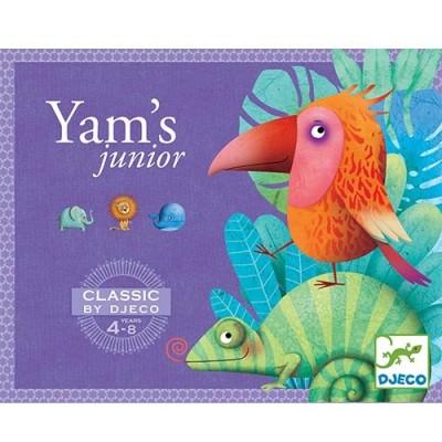 DJECO Yam's Junior- Yahtzee Classic Game