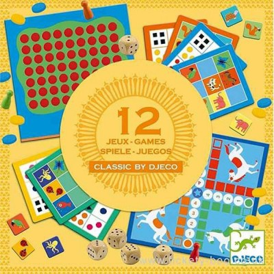 DJECO Classic Box 4+ Classic Game
