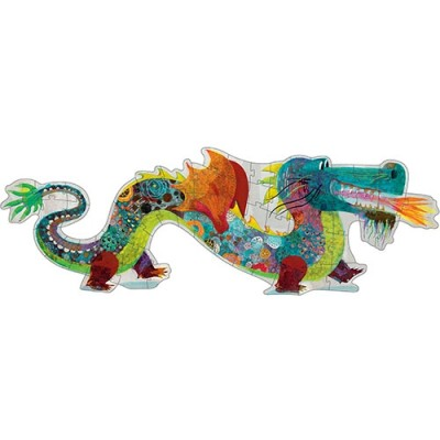 DJECO Leon The Dragon - 58 PCS - Giant Puzzle