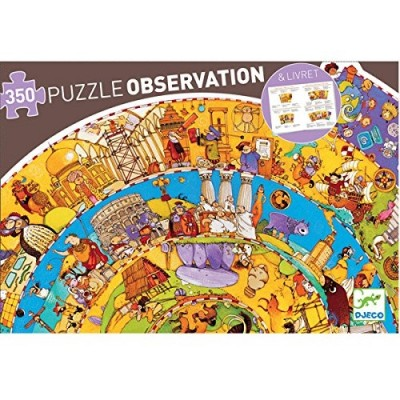 DJECO History Obervation Puzzle 350Pcs