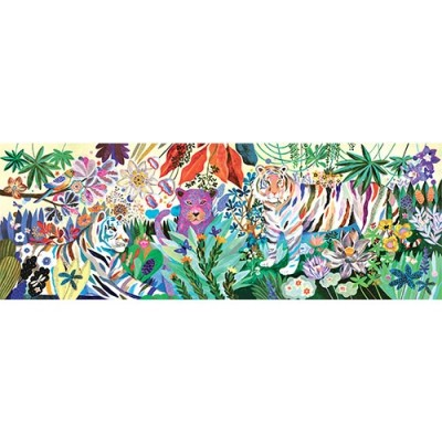 DJECO Rainbow Tiger 1000pcs Gallery Puzzle