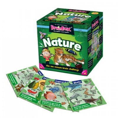GREEN BOARD GAME CO BrainBox Nature