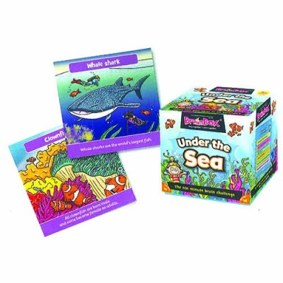 GREEN BOARD GAME CO BrainBox Under the Sea