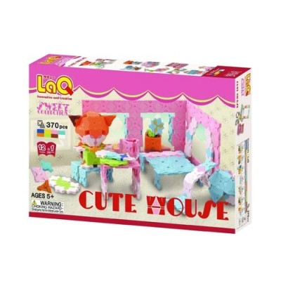 LaQ Sweet Collection Cute House Set 370pcs