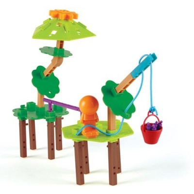 LEARNING RESOURCES Tree House Engineering & Design Building Set