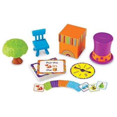 LEARNING RESOURCES Fox in the Box Positional Words Activity Set