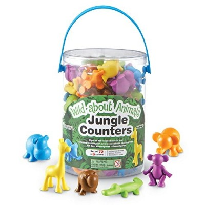 LEARNING RESOURCES Wild About Animals Jungle Counter