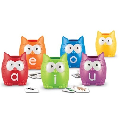 LEARNING RESOURCES Vowel Owls