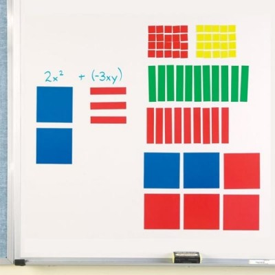 LEARNING RESOURCES Magnetic Algebra Tiles