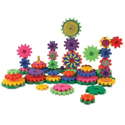 LEARNING RESOURCES Gears! Gears! Gears! Wacky Factory Building Set