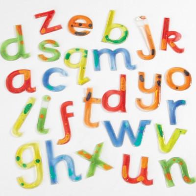 TTS Squidgy Sparkle Gel Lowercase Letters 26pk