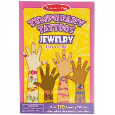 MELISSA & DOUG Temporary Tattoos - Jewelry