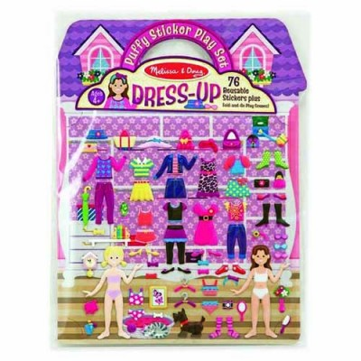 MELISSA & DOUG Dress-Up Puffy Sticker Play Set