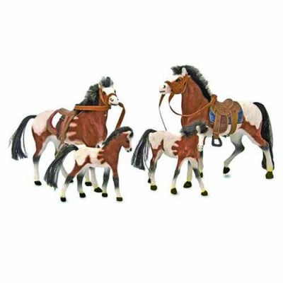 MELISSA & DOUG Collectible Horse Family Play Set