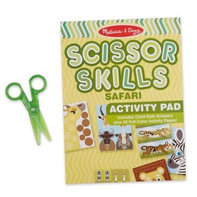 MELISSA & DOUG Safari Scissor Skills Activity Pad