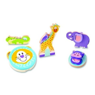 MELISSA & DOUG First Play Safari Musical Instruments