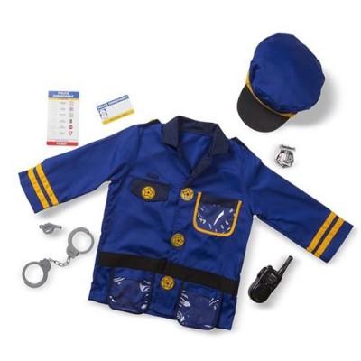 MELISSA& DOUG Police Officer Role Play Costume Set