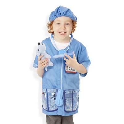 MELISSA & DOUG Veterinarian Role Play Costume Set