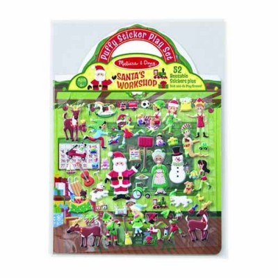 MELISSA & DOUG Santa's Workshop - Puffy Stickers