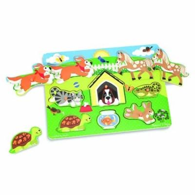 MELISSA & DOUG Pets Peg Puzzle