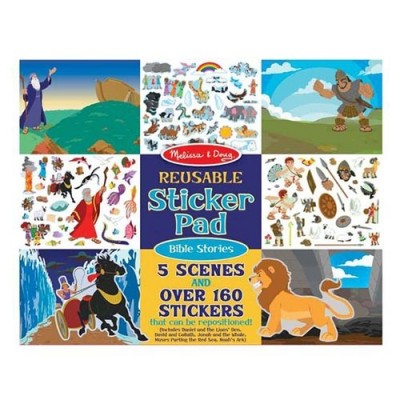 MELISSA & DOUG Reusable Sticker Pad - Bible Stories