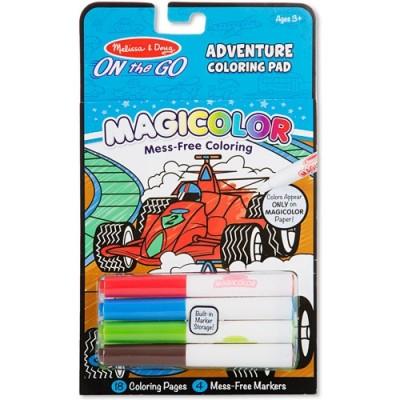MELISSA & DOUG Magicolor - On the Go - Games & Adventure Coloring Pad