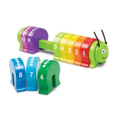 MELISSA & DOUG Counting Caterpillar Classic Toy