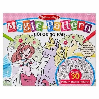 MELISSA & DOUG Magic-Patterns Colouring Pad - Pink