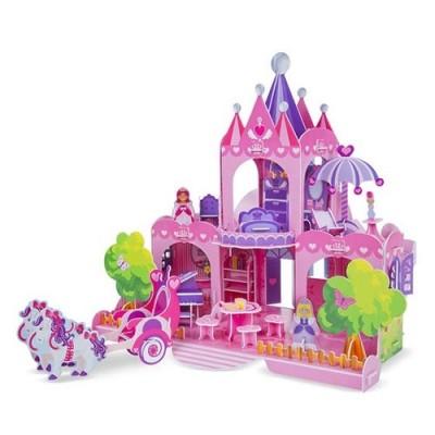 MELISSA & DOUG Pink Palace 3D Puzzle