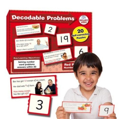 SMART KIDS Decodable Word Problems (four operations) to 20